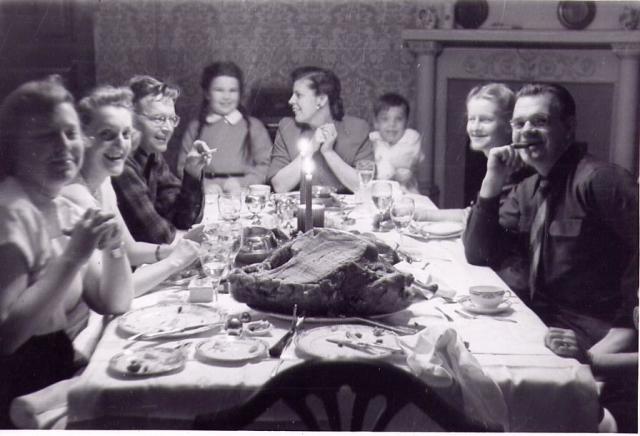 Dining Room 1940s