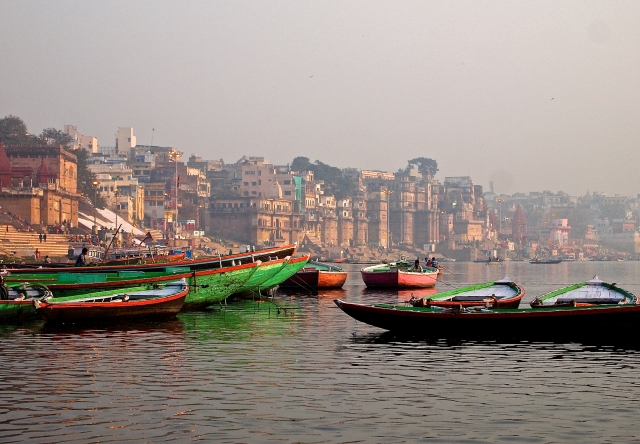 Misty Sunrise on the Ganges