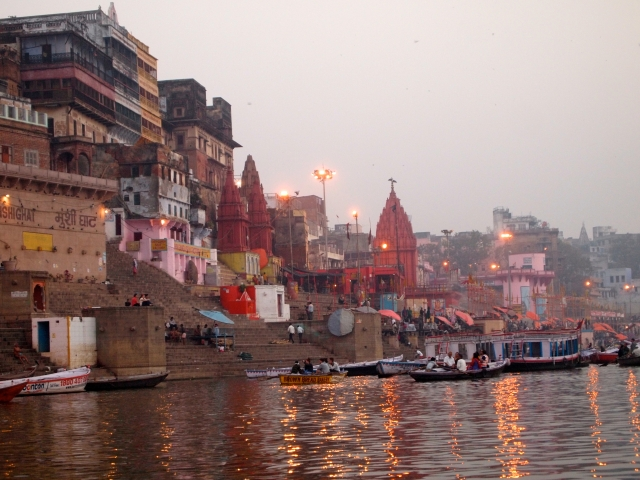 Activity on the River Ganges