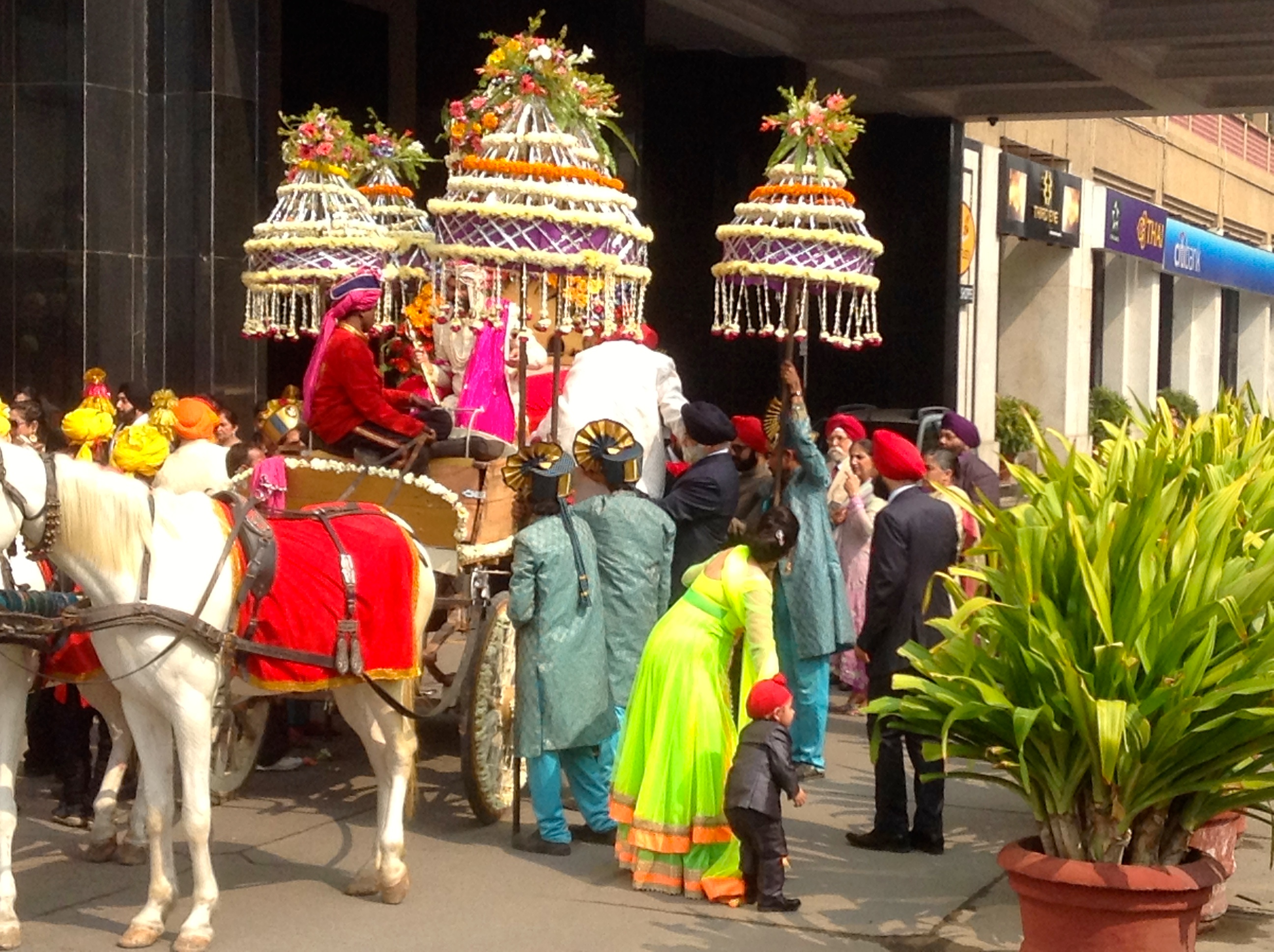 Happened Upon a Delhi Wedding 2015