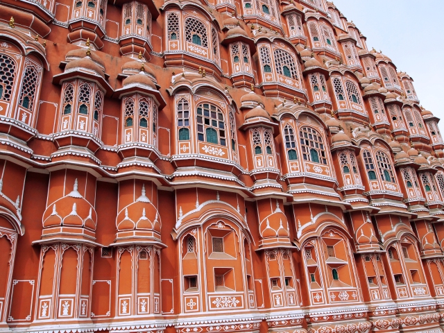 Hawa Mahal, Palace of the Winds, Larger View