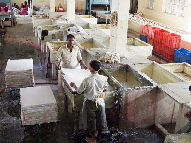 Part of Paper Making Process