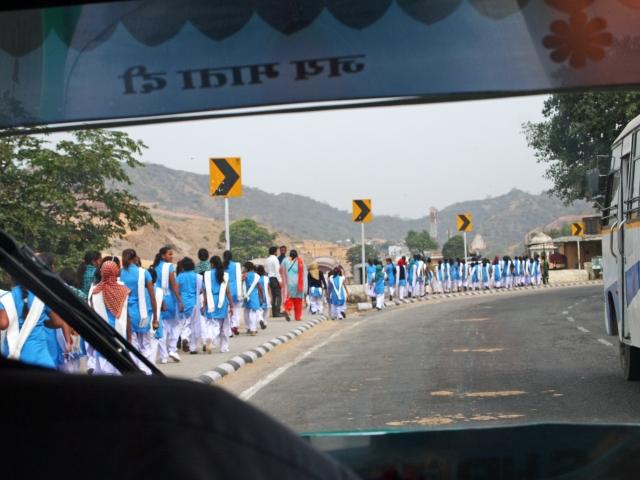 School Girls near Amber Fort