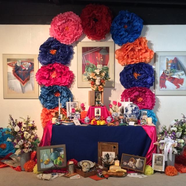 2017 Day of the Dead Exhibit at Sun Gallery, Hayward, CA